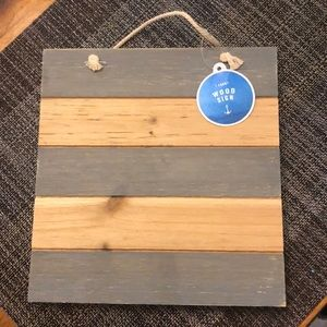 Wooden Craft Sign